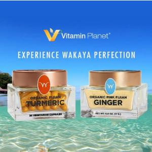 独家新品8.8折上新:Vitamin Planet 官网上线斐济有机姜黄 纯净精致全天然