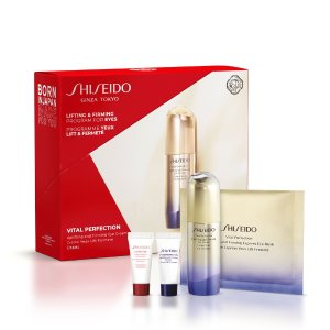 Shiseido6折!悦薇眼霜礼盒