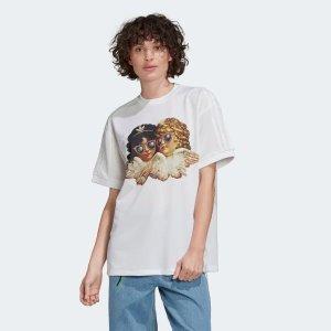 AdidasFiorucci合作款 白色短袖