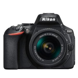 $599Nikon D5600 24.2 MP DSLR + 18-55mm Lens