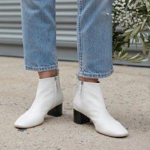 低至5折+首单9折Evelane官网 柔软质感美鞋超值价 封面短靴可省$140+