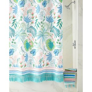 Dena Home Jacquard Bath Towel with Tassels and Matching Items