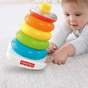 低至$4.99 大量上新Fisher-Price 6-12个月宝宝经典益智玩具特卖