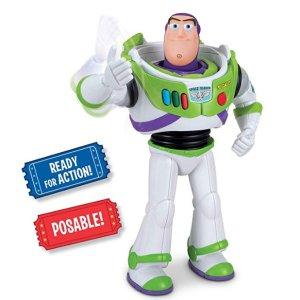 $9.99(原价$34.95)史低价:Toy Story 迪士尼玩具总动员 会空手道的巴斯光年