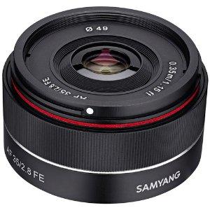 Samyang 35mm f/2.8 AF镜头 Sony E