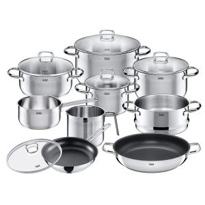限时秒杀¥1313Silit Toskana 锅具十件套 感应炉 洗碗机皆适用