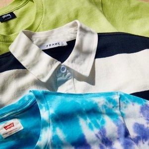 低至5折 Champion T恤$38Eastdane 精选男装大促 收Stussy、AMI、大王联名款