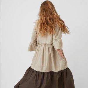低至4折 收封面新款美裙French Connection 折扣区美衣上新 波点衬衫$29