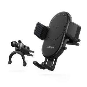 $29.99Anker PowerWave 无线快充 车载手机支架