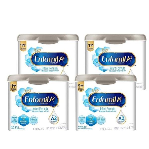 A2奶粉, 19.5 Ounce 4盒