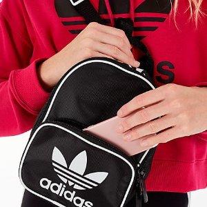 额外7.5折 封面款$29开学季:adidas 双肩包、斜挎包限时折上折 收可爱果冻包