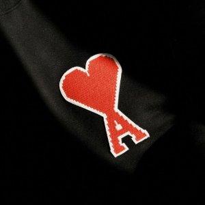 5折起!T恤£72、卫衣£103Ami Paris 超萌大爱心 入爆款新配色 卫衣、T恤等速速抢