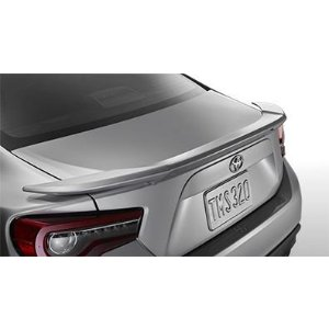 ToyotaShop Toyota 86 Rear Lip Spoiler - Asphault. Rear Spoiler. Add even more style to your 86 with an Exterior, Aerodynamic - OEM Toyota Accessory # PT9381813001