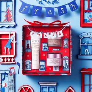 上新:fresh 限量圣诞礼盒来袭 高颜值天然护肤甜心
