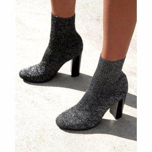 Bel 黑色袜子靴