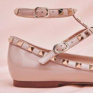 低至7折 收网红铆钉鞋Rue La La  精选Valentino美包、美鞋热卖