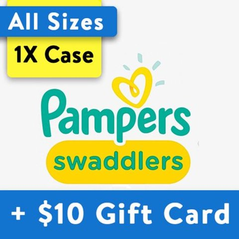 Buy 1, Get $10 Gift CardPampers Diapers, OMS Pack (Choose Your Size)