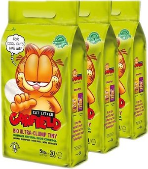 Garfield Cat Litter Tiny Grains Flushable Cat Litter, 15-lb case - Chewy.com