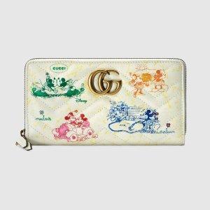 GucciGucci - Online Exclusive Disney x Gucci GG Marmont zip around wallet