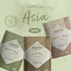 全场代餐7折起 £2.5/天饮食计划Exante 减脂代餐专家 抹茶口味、奶茶口味美味且低脂低糖