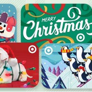 预告:Target 礼卡享9折优惠,最高可买$300