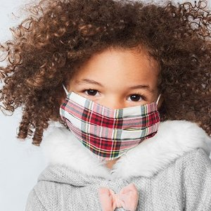 $0.79起 新款三个$4折扣升级:Carter's官网 儿童双层全棉口罩热卖