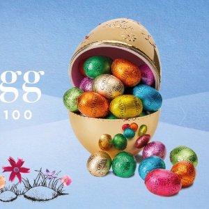 满£100送价值£50复活节巧克力蛋Godiva 巧克力复活节大促 全场满赠 折扣区可叠加 金蛋抱回家