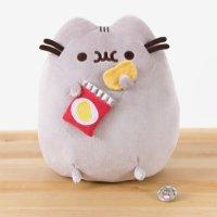 Gund 胖吉猫吃薯片9.5