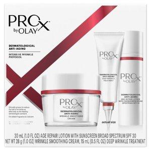 $21.54(原价$44.99)Olay ProX 抗老除皱护肤三件套4.8折热卖