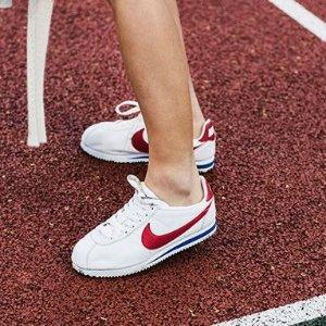 $60.56 (原价$95)+限时免邮Nike Cortez 经典阿甘鞋特卖 超模贝拉同款