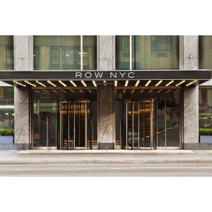 旧金山往返纽约+4晚 Row NYC 酒店