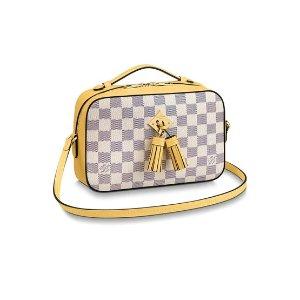 Louis VuittonSaintonge 棋隔纹斜挎包