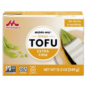 $17.19 一盒$1.43Mori-Nu 特硬款无麸质豆腐 12.3oz 12盒