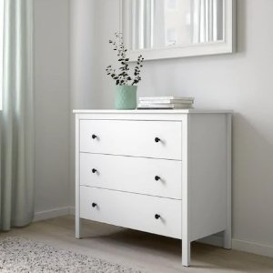低至3折 储物架$9.99IKEA 卧室家具限时热卖 金属床架$39 封面款橱柜$79