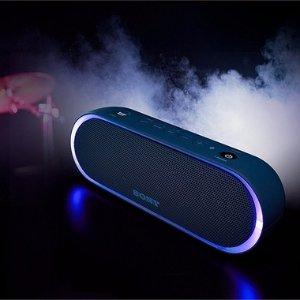 $88 包邮Sony XB20 便携式蓝牙音箱蓝色/绿色特价
