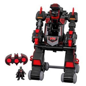 $34.68(原价$69.99) 近史低价Fisher-Price 蝙蝠侠机器人,可变形成坦克