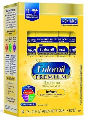 Enfamil 便携装奶粉(16支装)