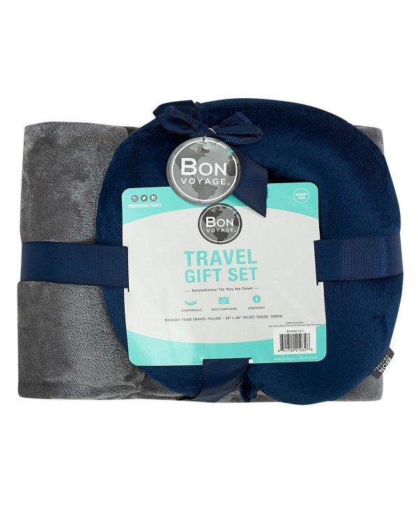 旅行枕+毯子