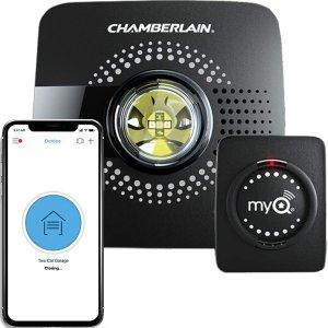 $55.99(原价$66.97)Chamberlain 车库远程智能控制系统 车库开关监控佳品