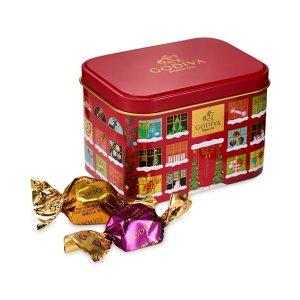 巧克力圣诞铁盒 15颗装