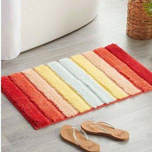 低至5折起  收毛绒纯色款上新:Simons 浴室地垫 浴缸防滑垫  打造清爽干净浴室