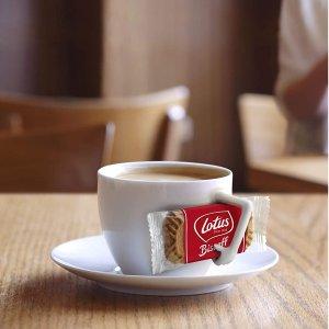 $3.6 咖啡馆标配Lotus Biscoff 焦糖饼干 早餐/下午茶的好伴侣