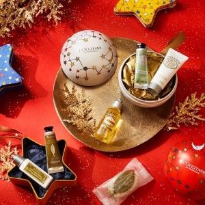 最高送3套+全场免邮,快收倒数日历、节日套装L'Occitane 欧舒丹 满额送圣诞限量小套装