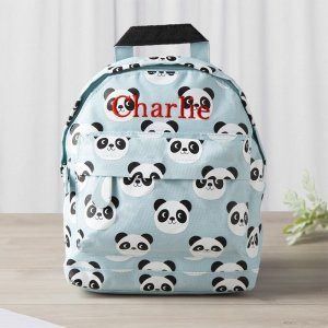 My 1st Years20% Off for $100+Personalized Blue Panda Print Backpack