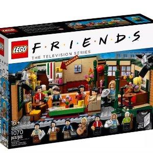 售价$89.99+满额送野餐毯新品预告:Lego 乐高官网老友记中央公园咖啡馆21319将于9月1日发售