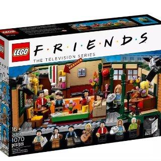 $89.99+双倍积分补货:Lego 乐高官网老友记中央公园咖啡馆21319