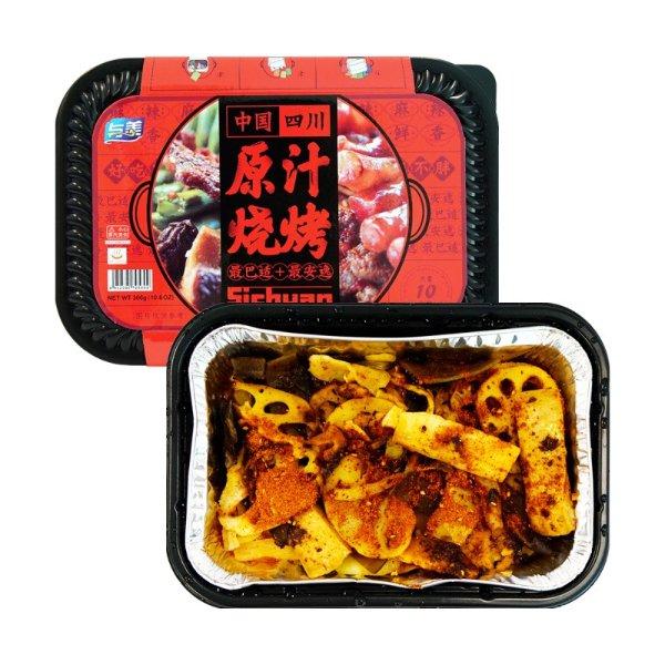 与美 最巴适+最安逸 四川自热烧烤 306g