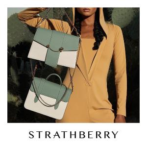 罕见5折+超值汇率折扣升级:Strathberry官网 美包好价时刻 Eastwest、Stylist参加