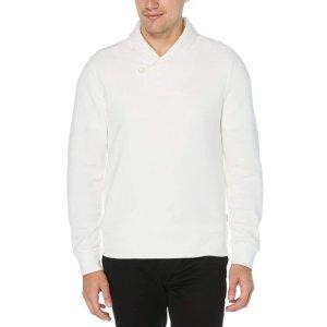 Perry EllisShawl Collar Pullover Sweater