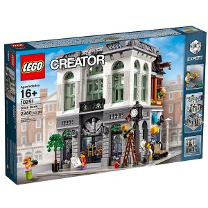 $145.7 LEGO Creator Expert Brick Bank Building Kit (2380 Piece) @ Amazon
